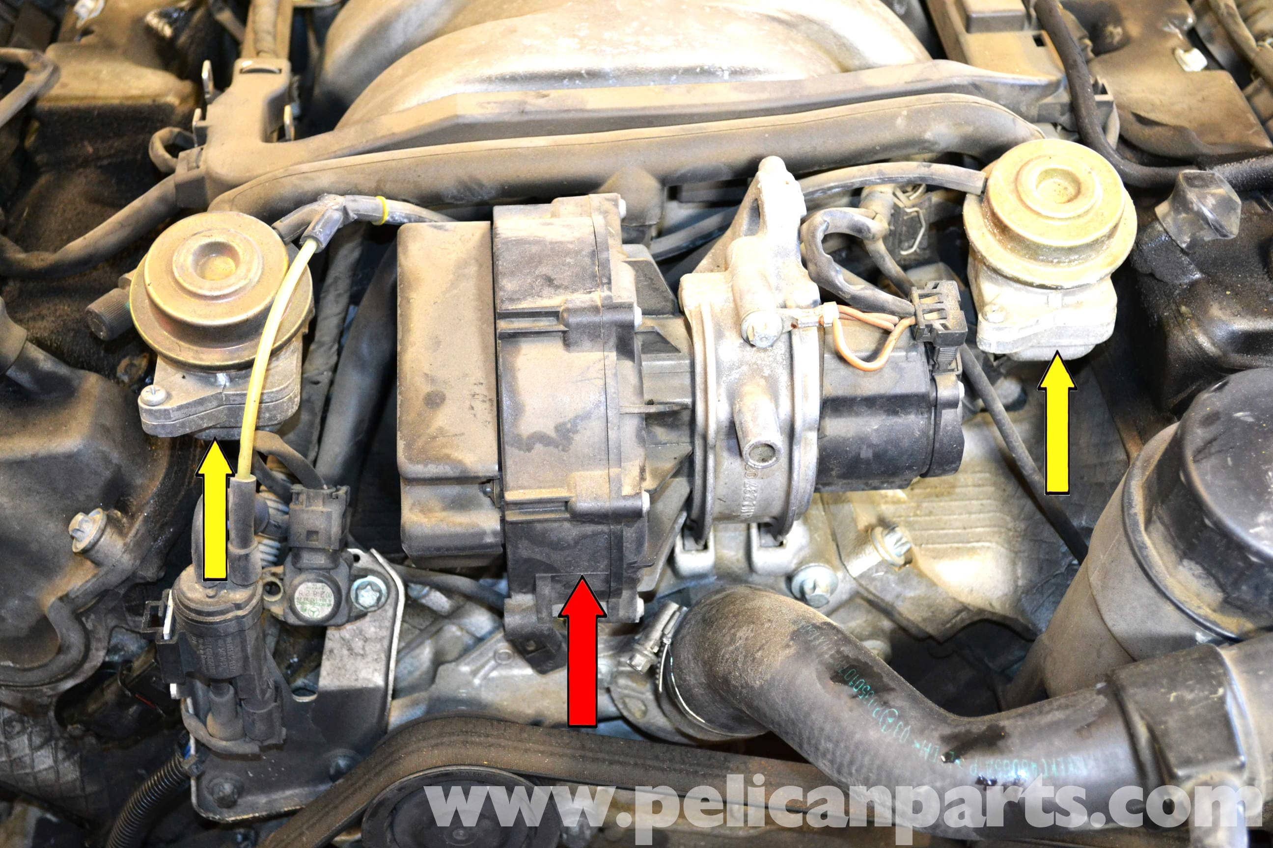 Mercedes Benz W203 Air Pump Replacement 2001 2007 C230