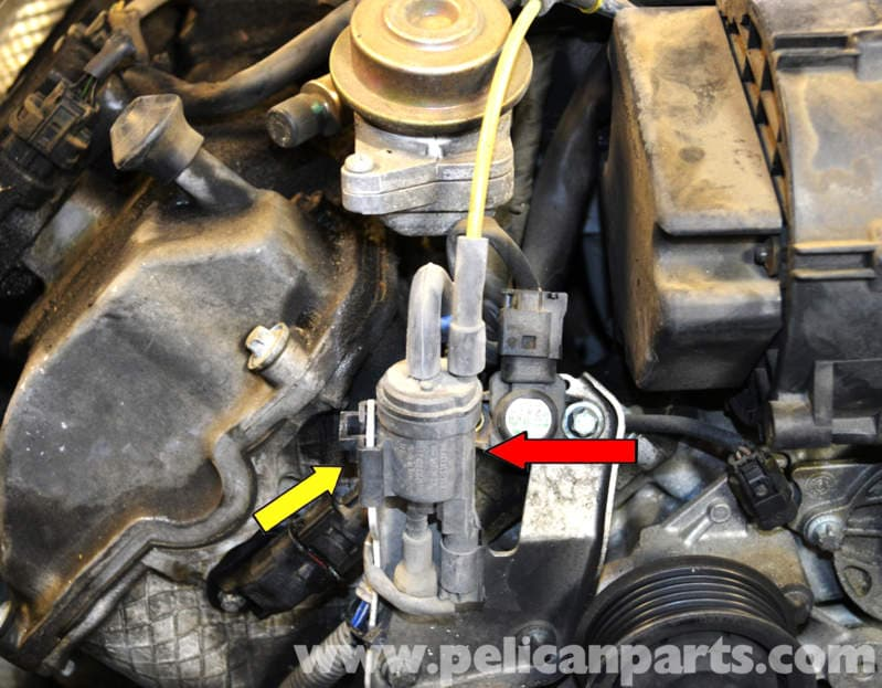Mercedes Benz W203 Change Over Valve Replacement 2001