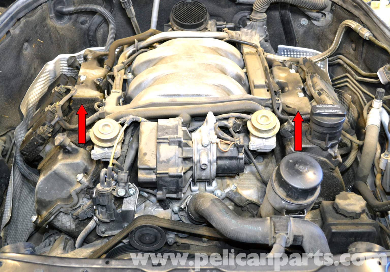 Mercedes Benz W203 Spark Plug And Coil Replacement 2001 2007 C230 C280 C350 C240 C320 Pelican Parts Diy Maintenance Article