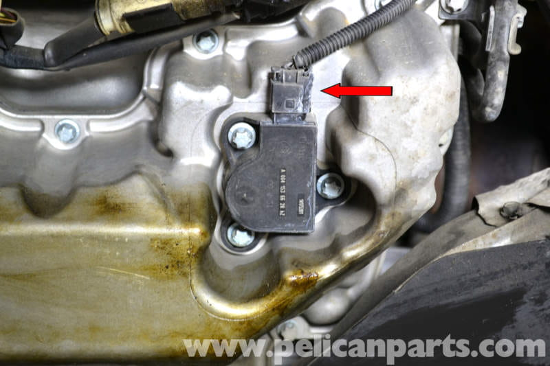Mercedes Benz W203 Oil Level Sensor Replacement 2001