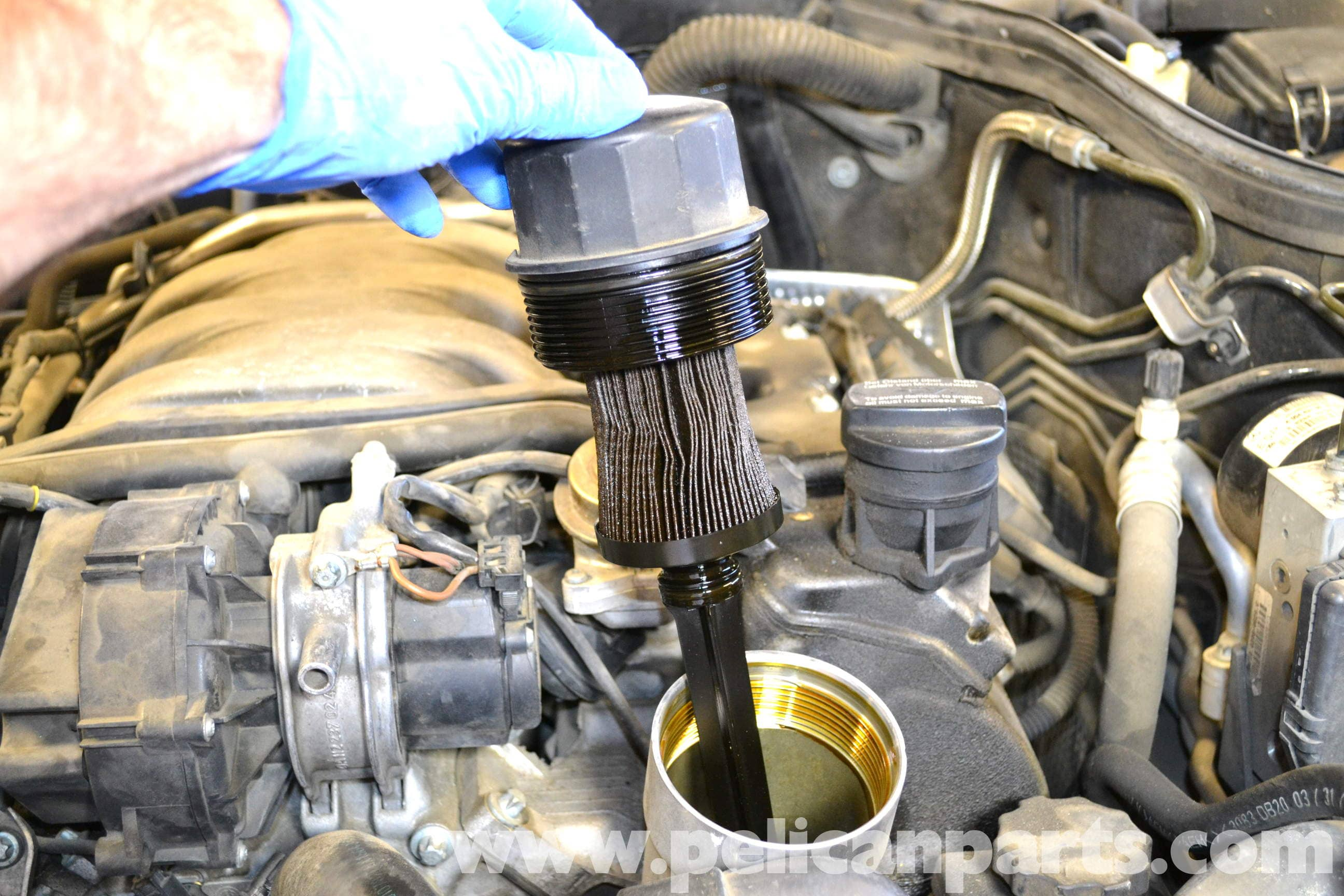 Mercedes benz w203 oil change 2001 2007 c230 c280 for How much is oil change for mercedes benz