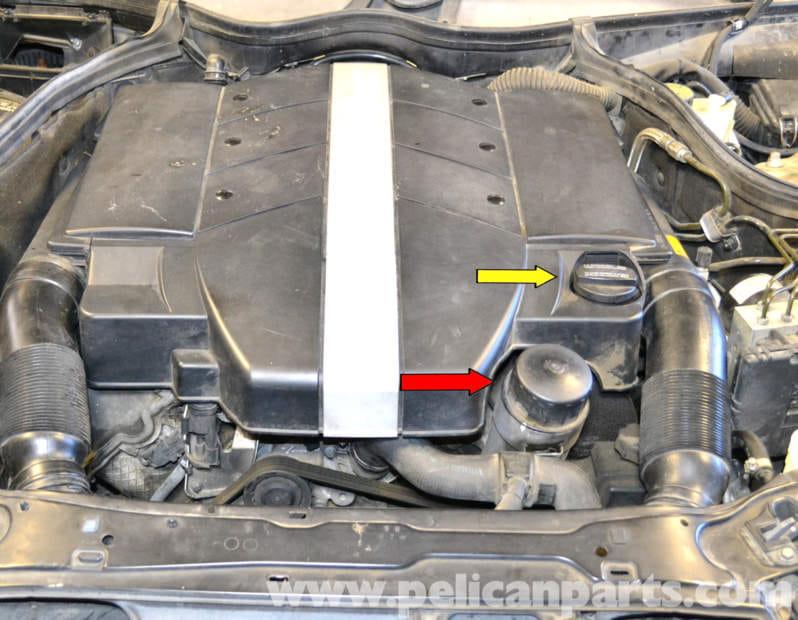 Mercedes Benz W203 Oil Change 2001 2007 C230 C280