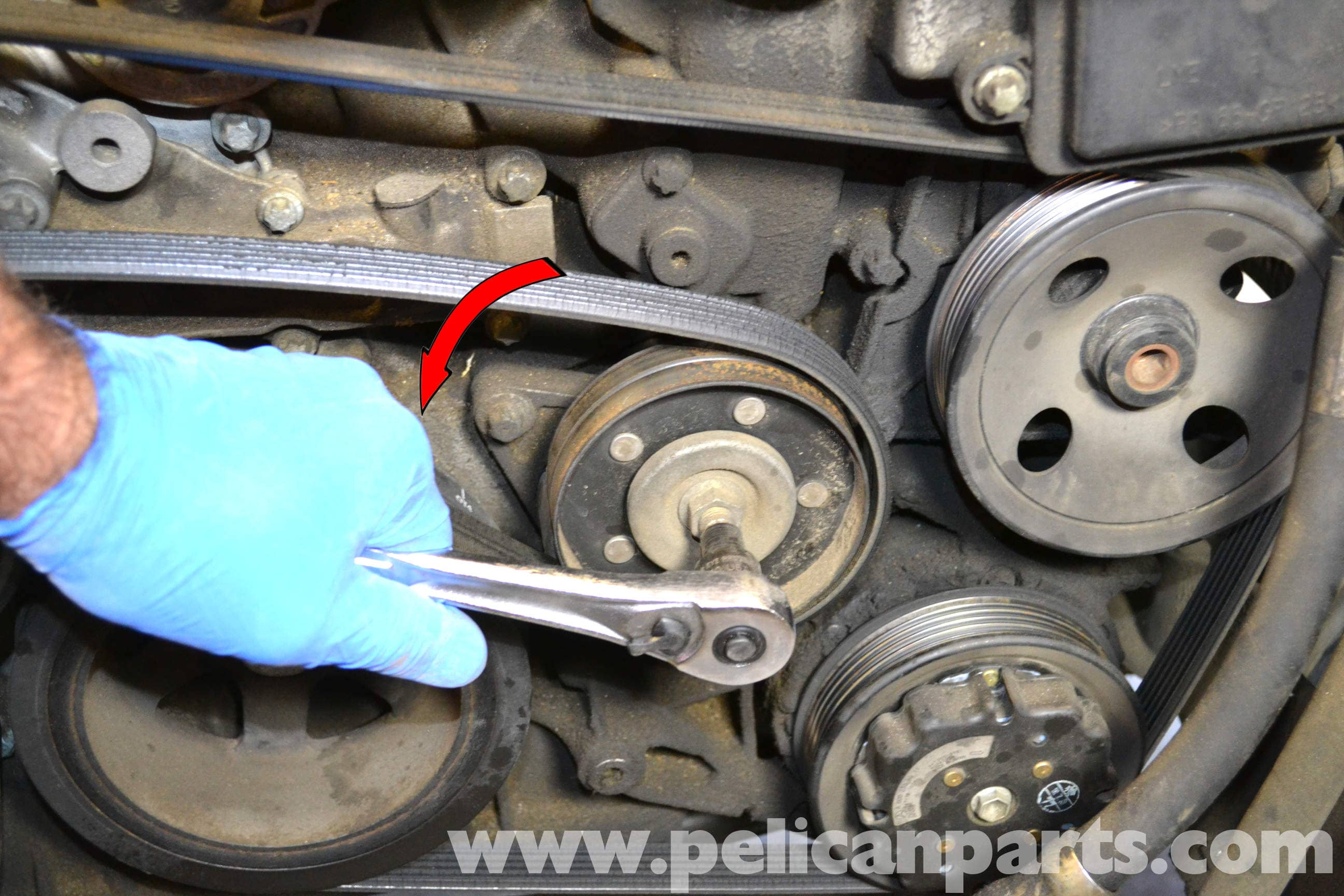 mercedes benz w203 timing chain tensioner replacement (2001 2007 1988 Mercedes-Benz