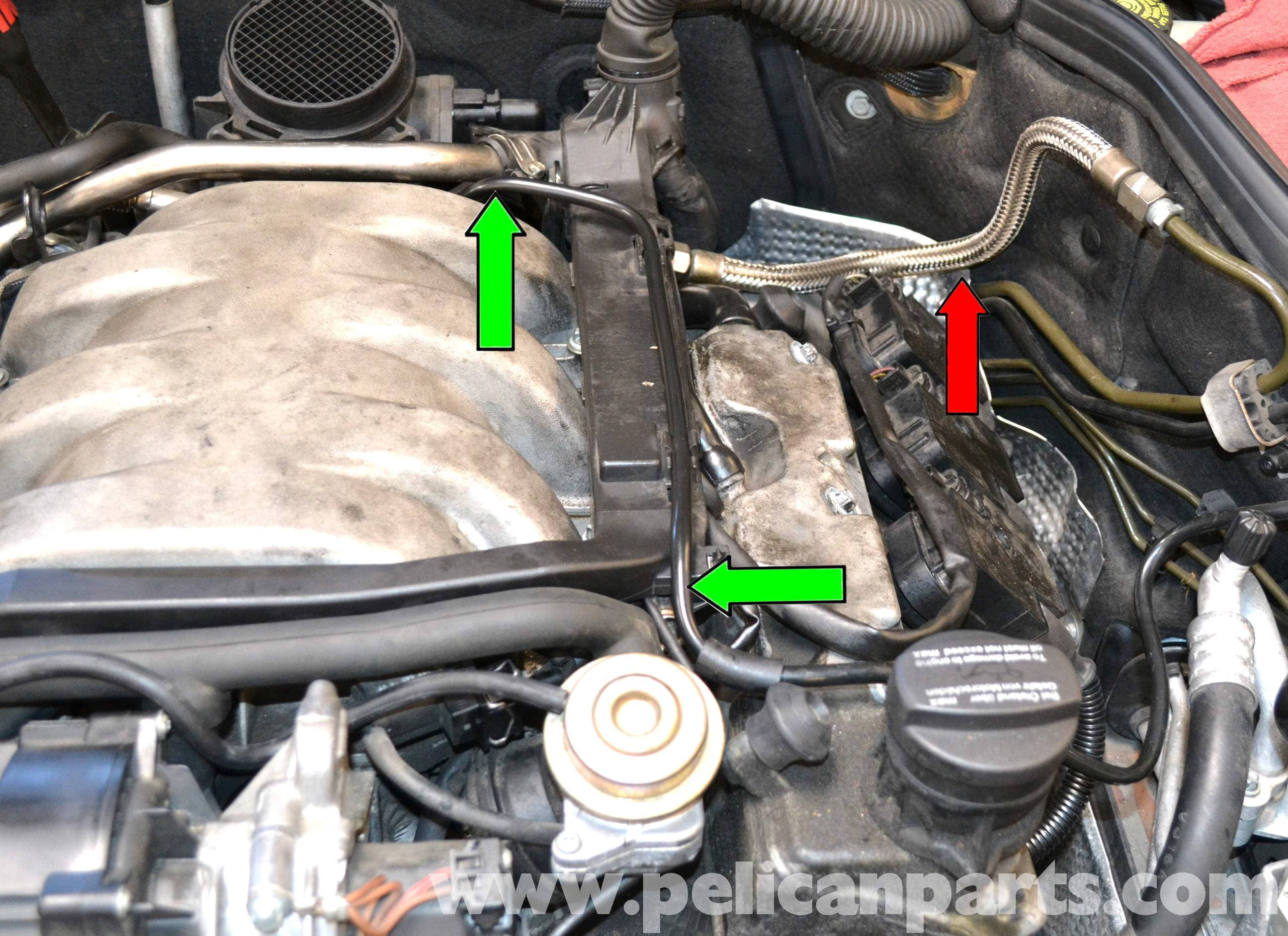 C240 W203 Fuse Box Controlling Transmission 43 Wiring Diagram Pic06 Mercedes Benz Fuel Injector Replacement 2001 2007 C230 At