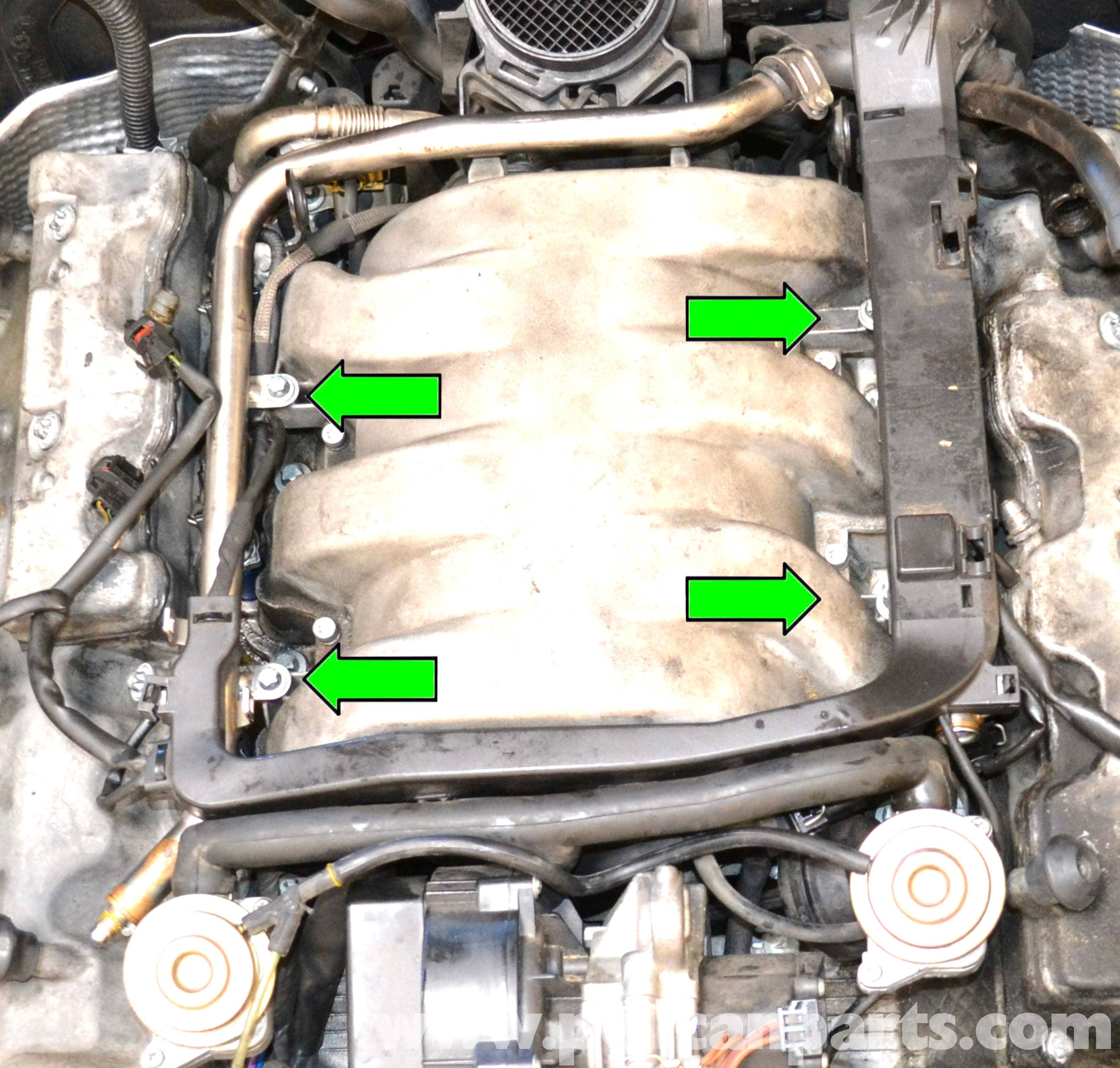 Mercedes-Benz W203 Fuel Injector Replacement - (2001-2007