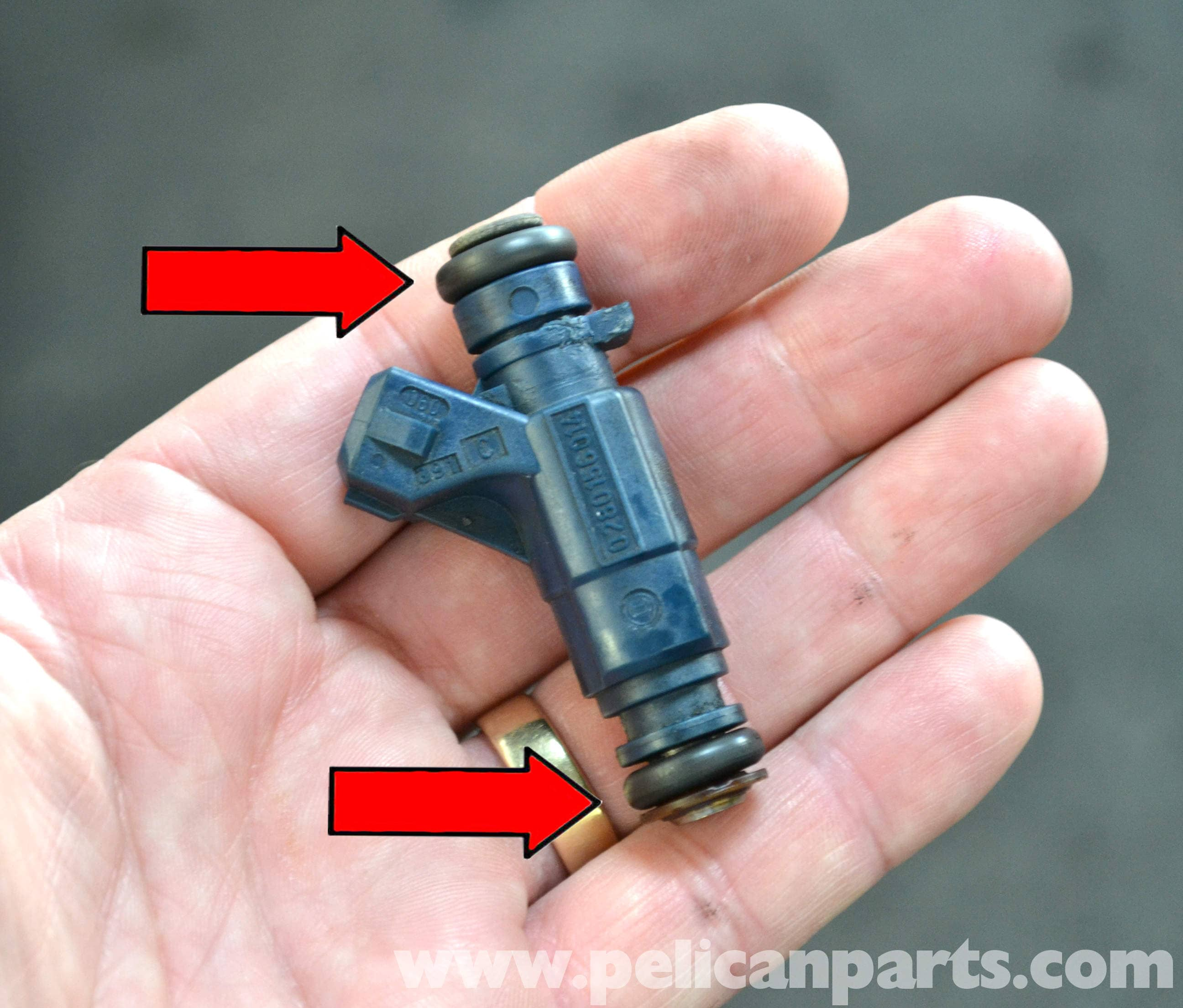 mercedes-benz w203 fuel injector replacement