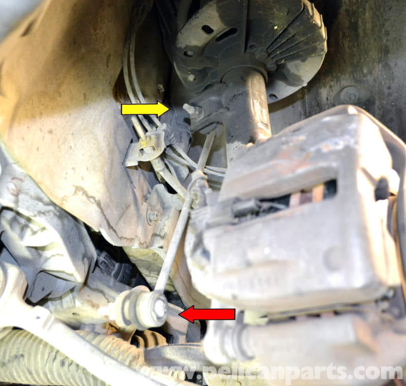 Mercedes Benz W203 Stabilizer Bar Link Replacement 2001