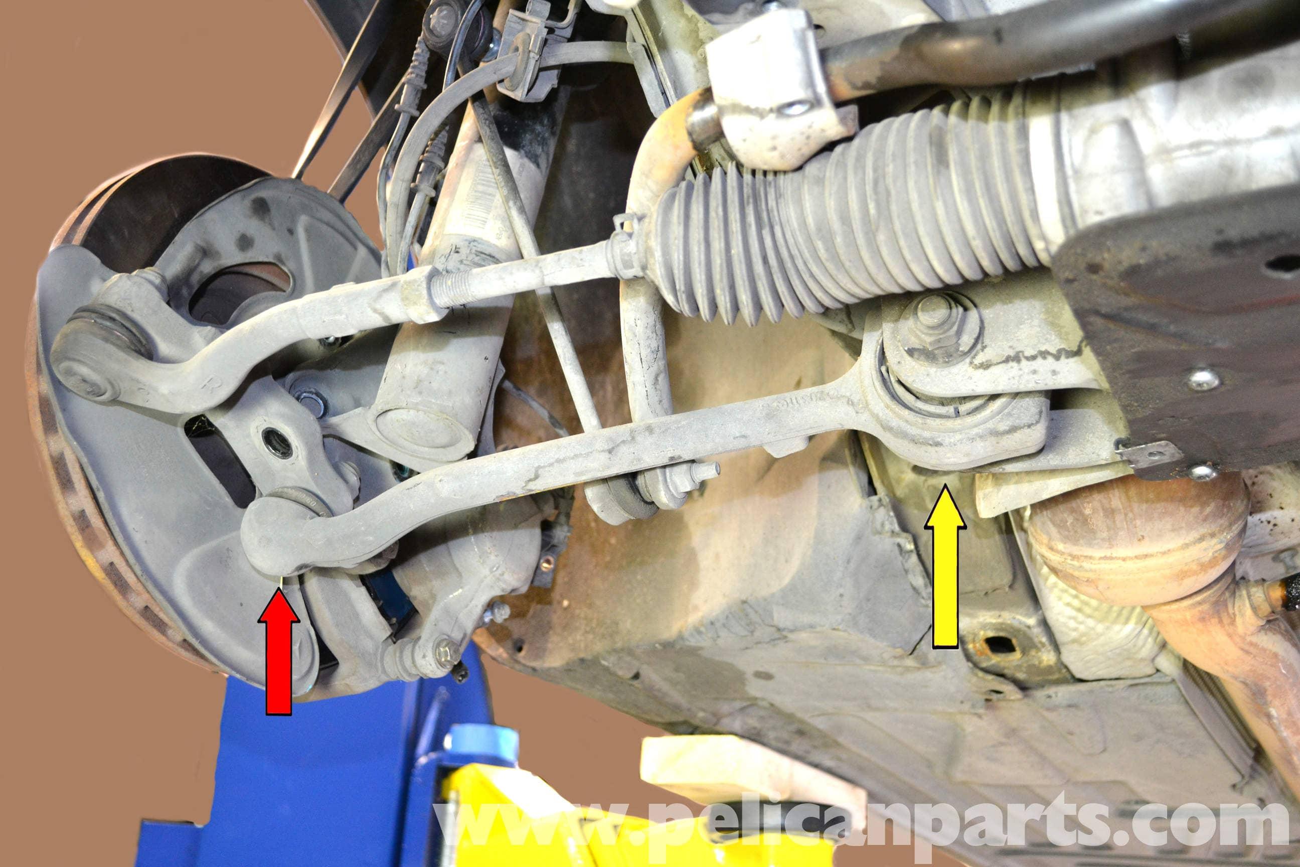 Mercedes benz w203 front control arm replacement 2001 for Mercedes benz suspension repair