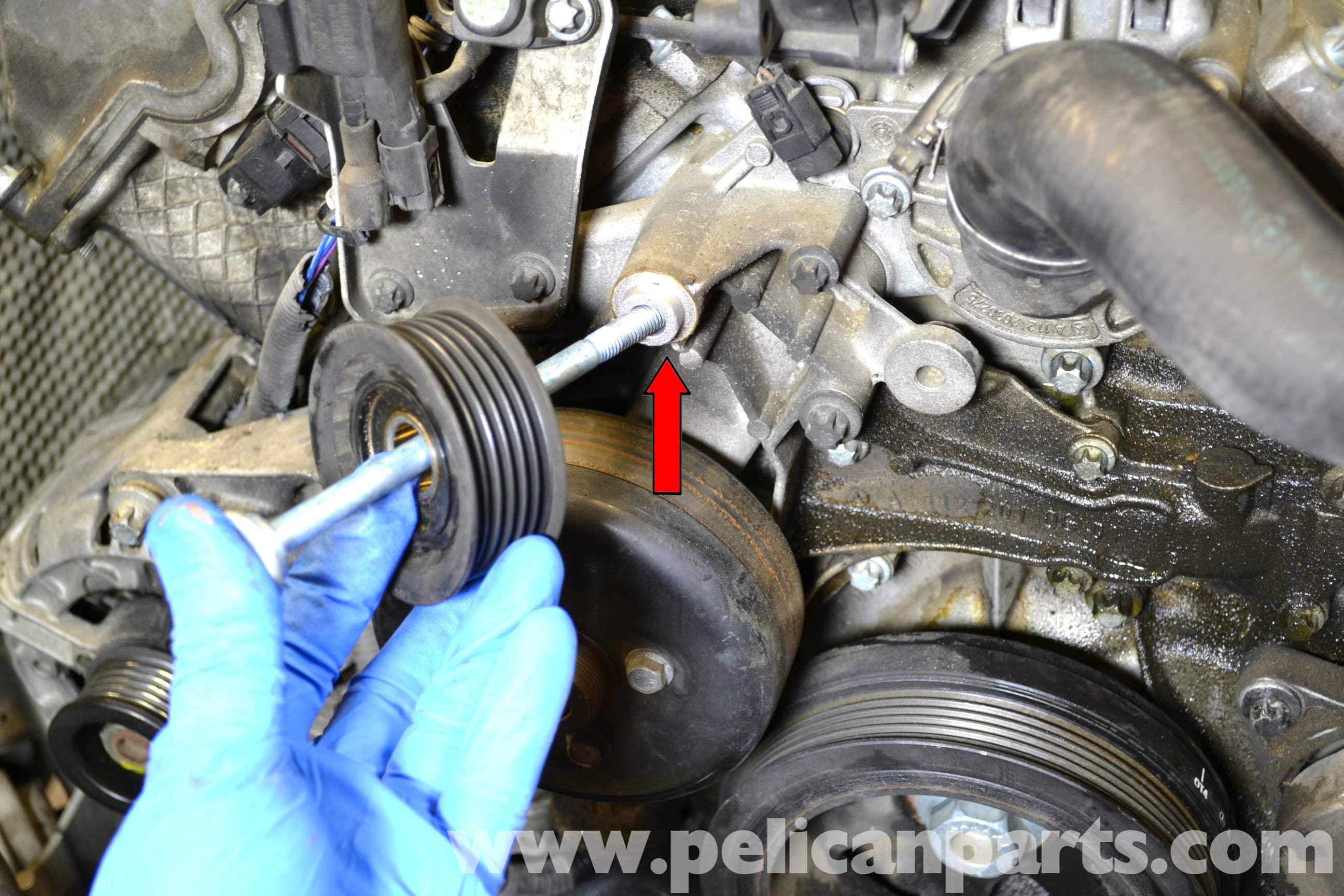 Mercedes-Benz W203 Water Pump Replacement - (2001-2007) C230
