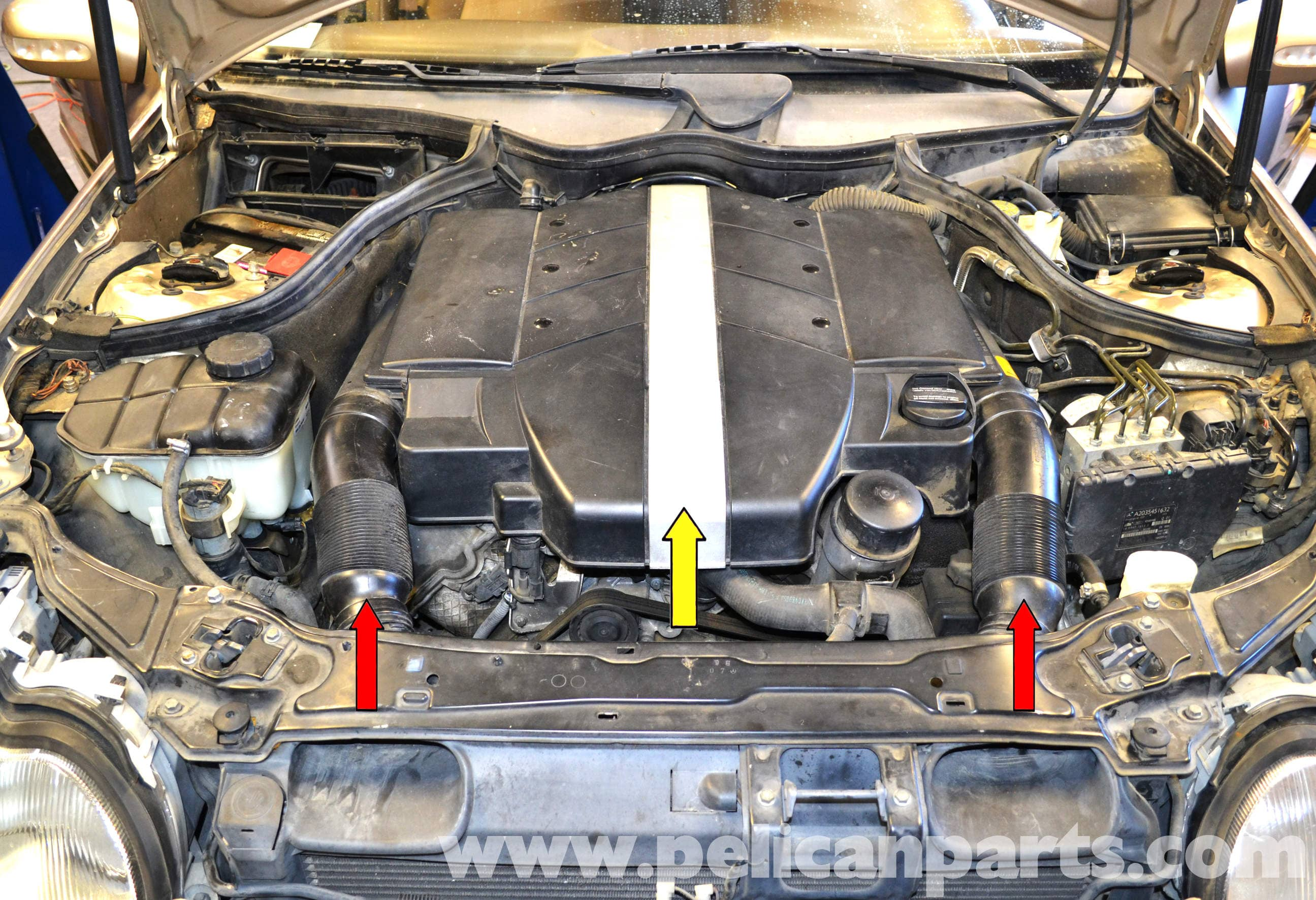 mercedes-benz w203 radiator replacement
