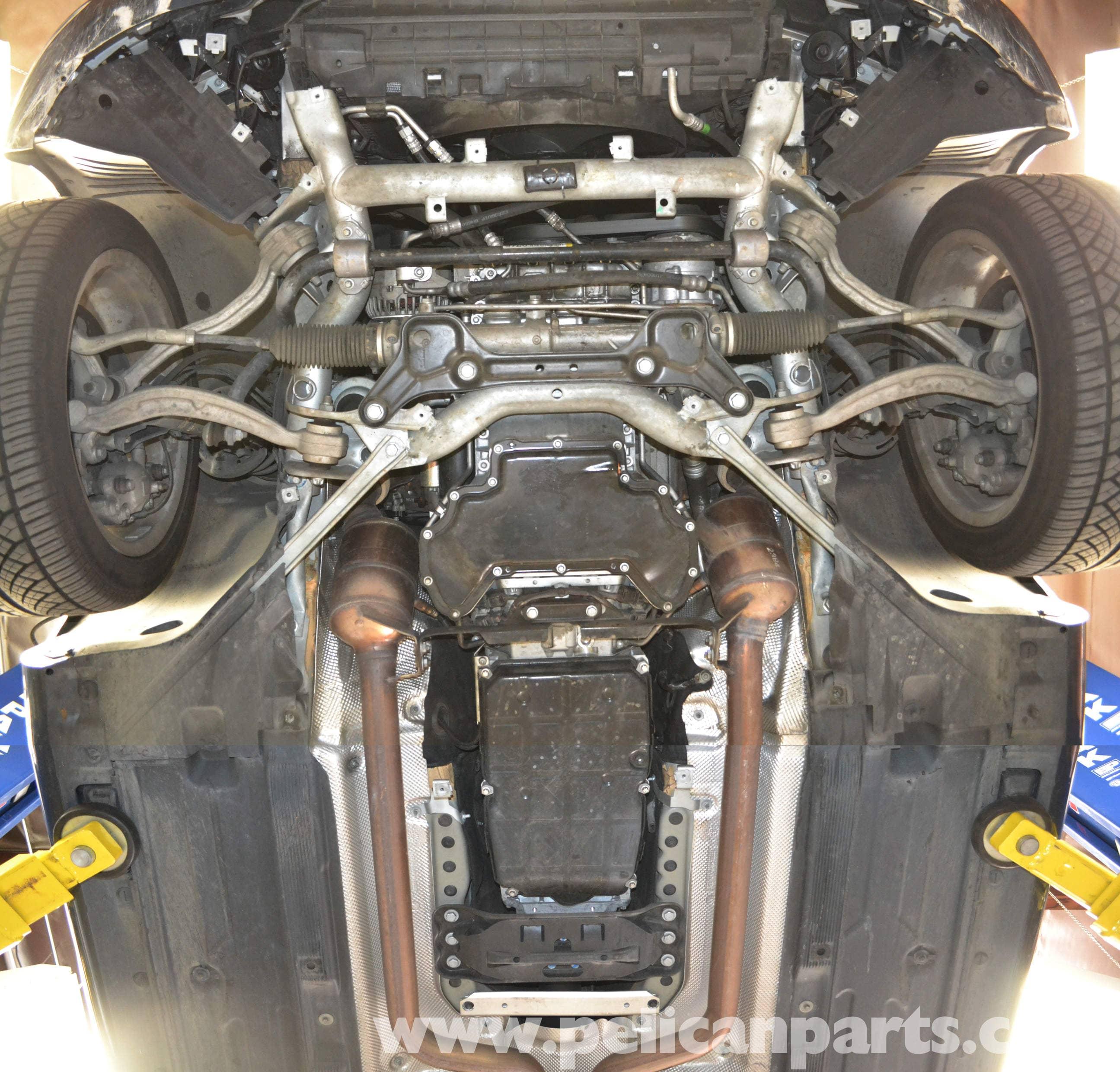 Mercedes Benz W204 Underbody Tray Removal 2008 2014