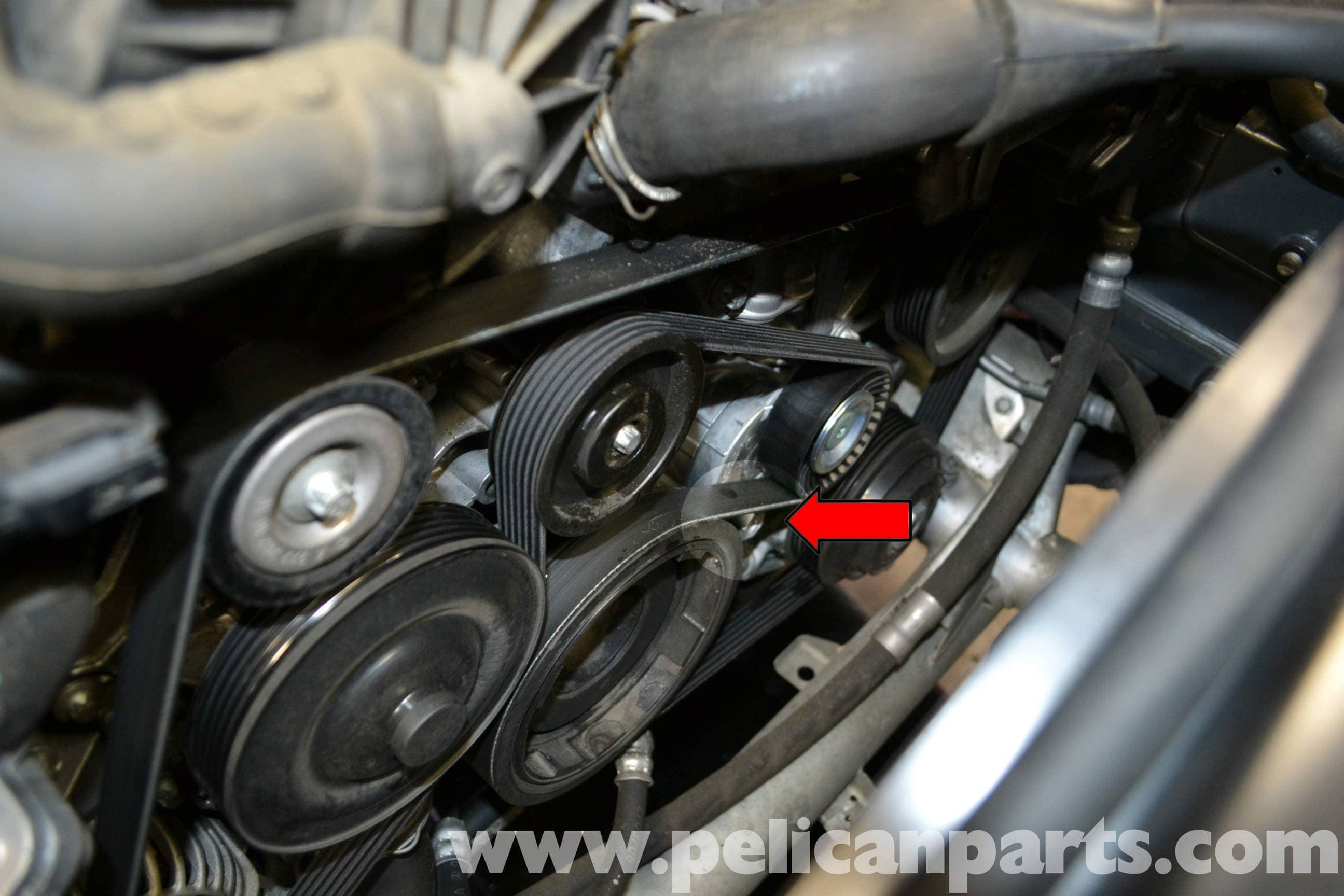 Mercedes-Benz W204 Drive Belt Replacement - (2008-2014) C250