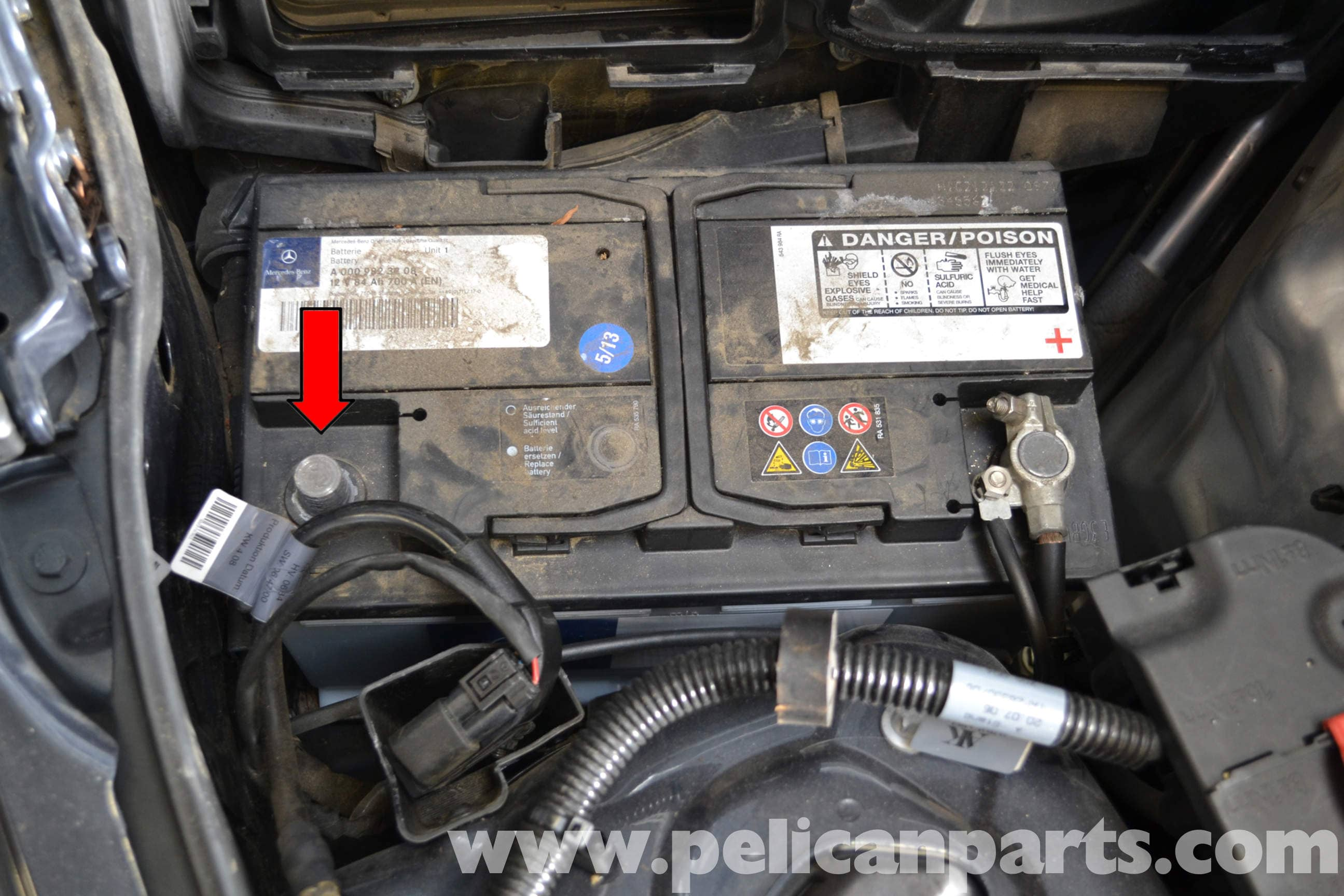 Mercedes-Benz W204 Electronic Steering Lock Replacement - (2008-2014