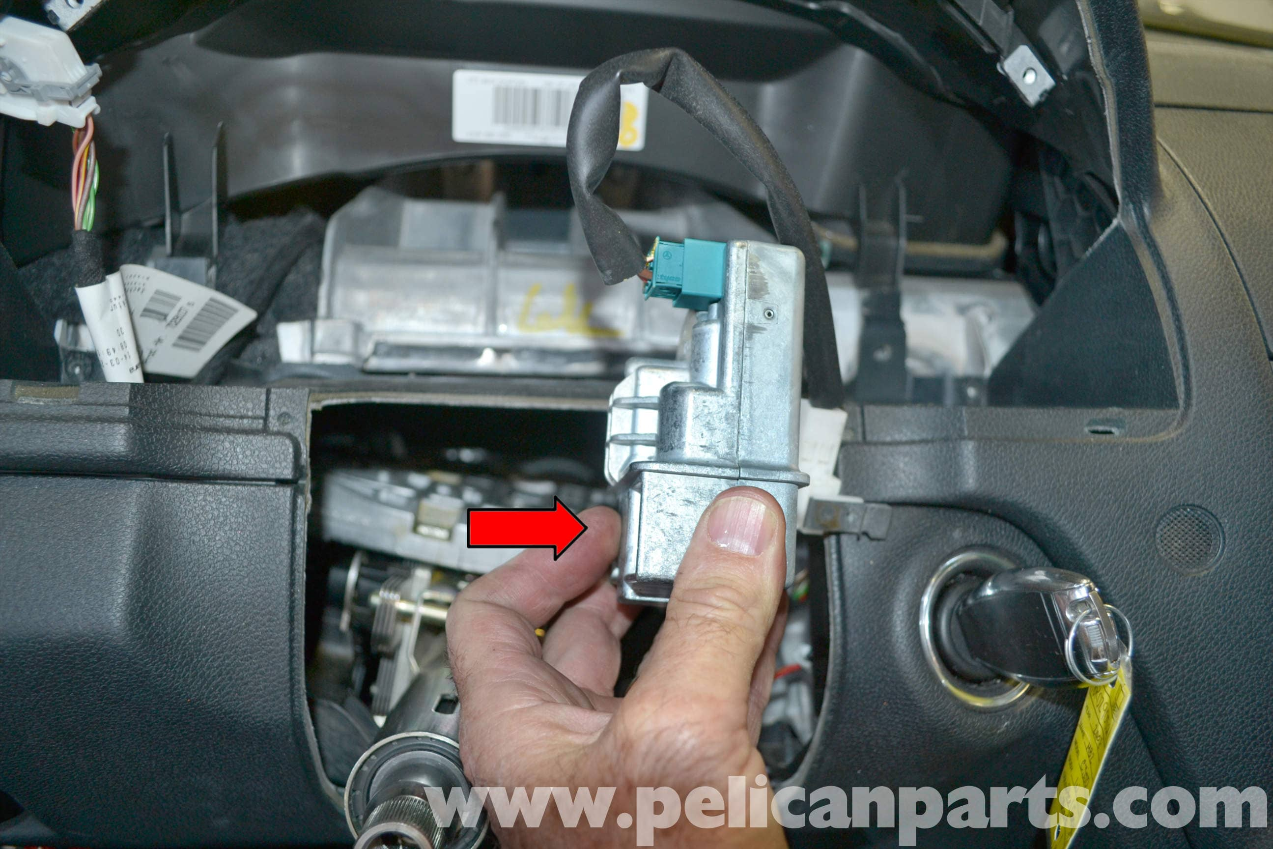 Mercedes-Benz W204 Electronic Steering Lock Replacement