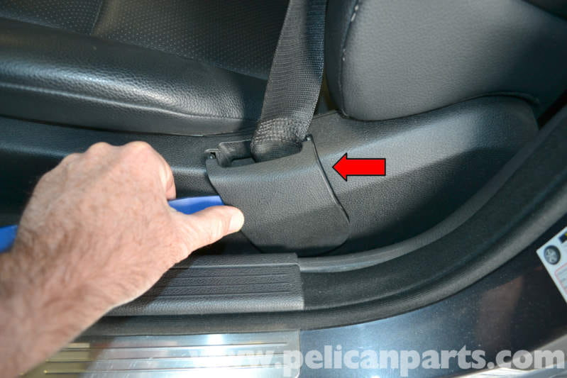 Mercedes Benz W204 Seat Removal 2008 2014 C250 C300