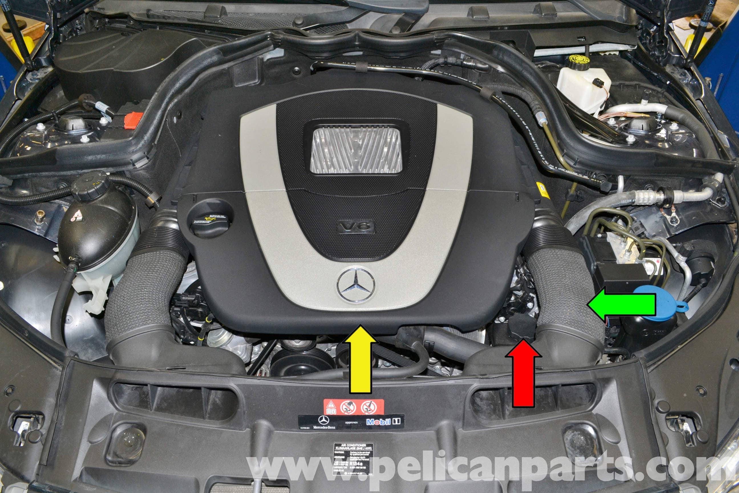 Mercedes Benz W204 Power Steering Flush 2008 2014 C250 C300