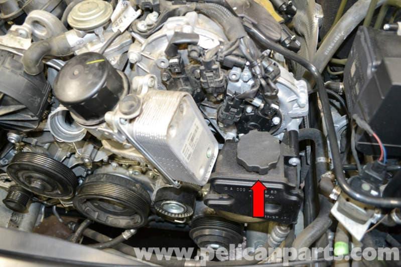 Mercedes Benz W204 Power Steering Flush 2008 2014 C250