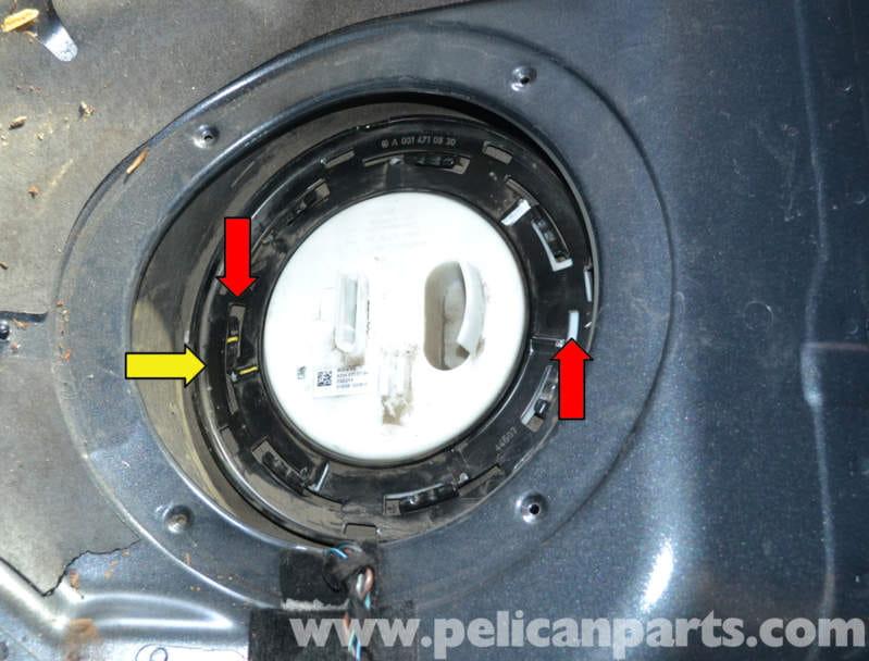 Mercedesbenz W204 Fuel Pump Replacement 20082014 C250 C300 Rhpelicanparts: 1998 Mercedes C280 Fuel Pump Location At Gmaili.net