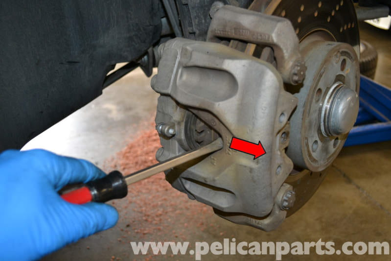 Mercedes Benz W204 Front Brake Pad Replacement 2008