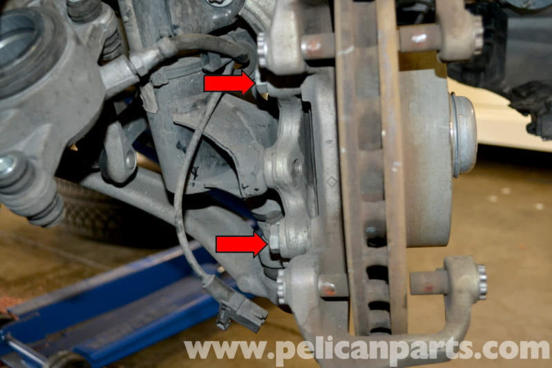 Mercedes-Benz W204 Front Brake Rotor/Disc Replacement