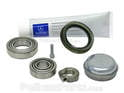 If you purchase a bearing kit it will come complete with everything you need including the grease.