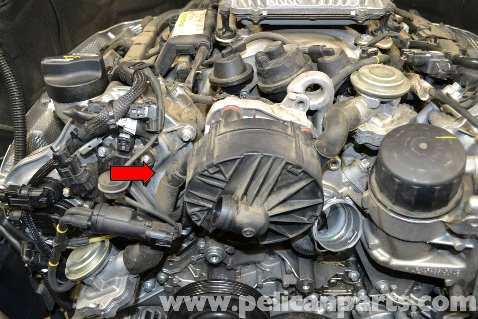 Mercedes benz w204 secondary air pump replacement 2008 for 2008 mercedes benz c300 parts