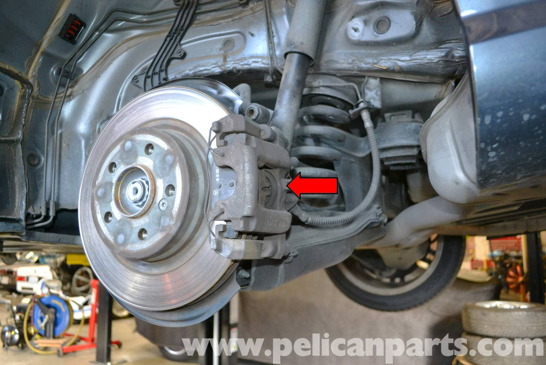 Mercedes Benz W204 Rear Brake Caliper Replacement 2008