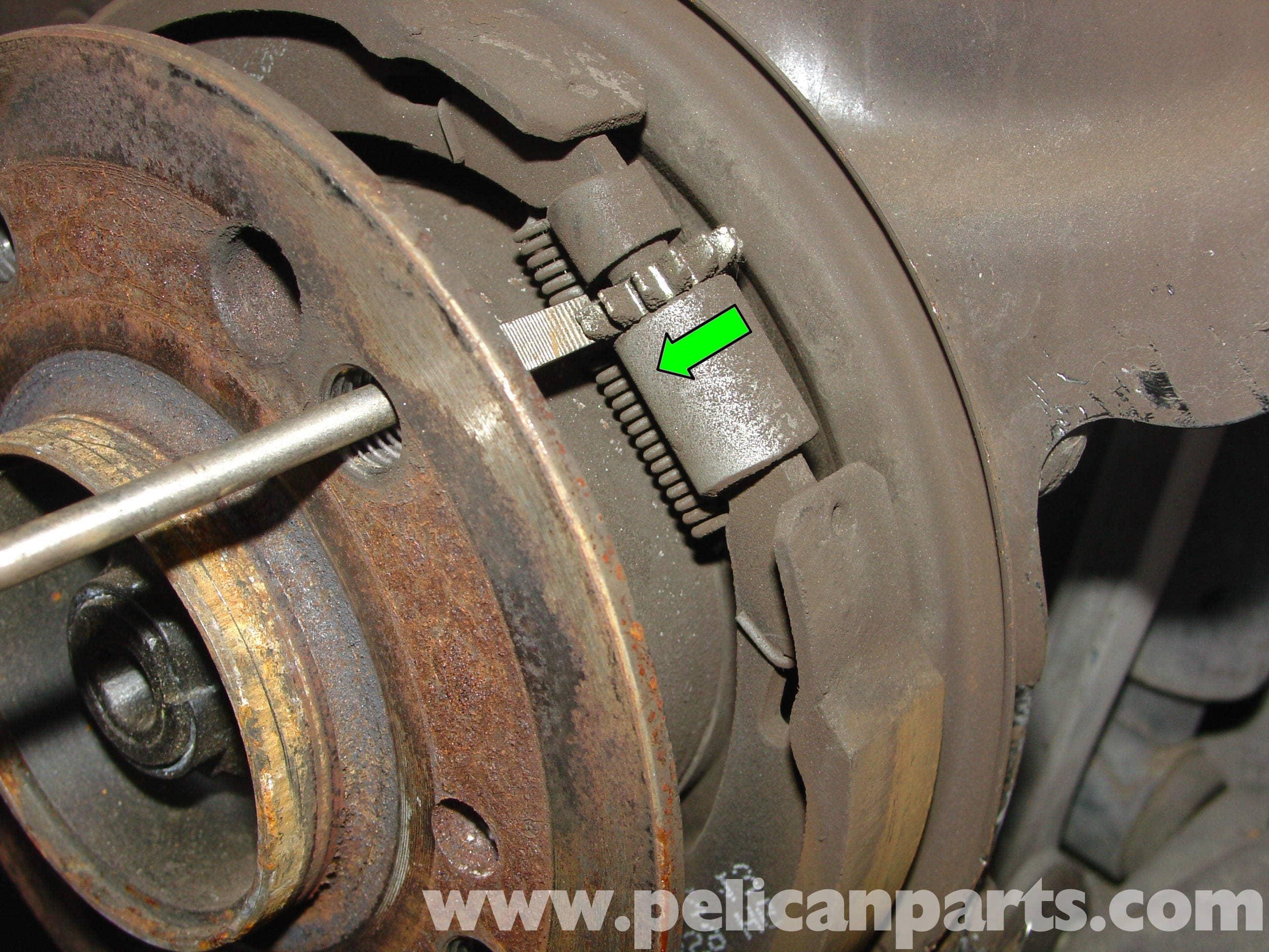 Mercedes Benz W204 Parking Brake Adjustment 2008 2014
