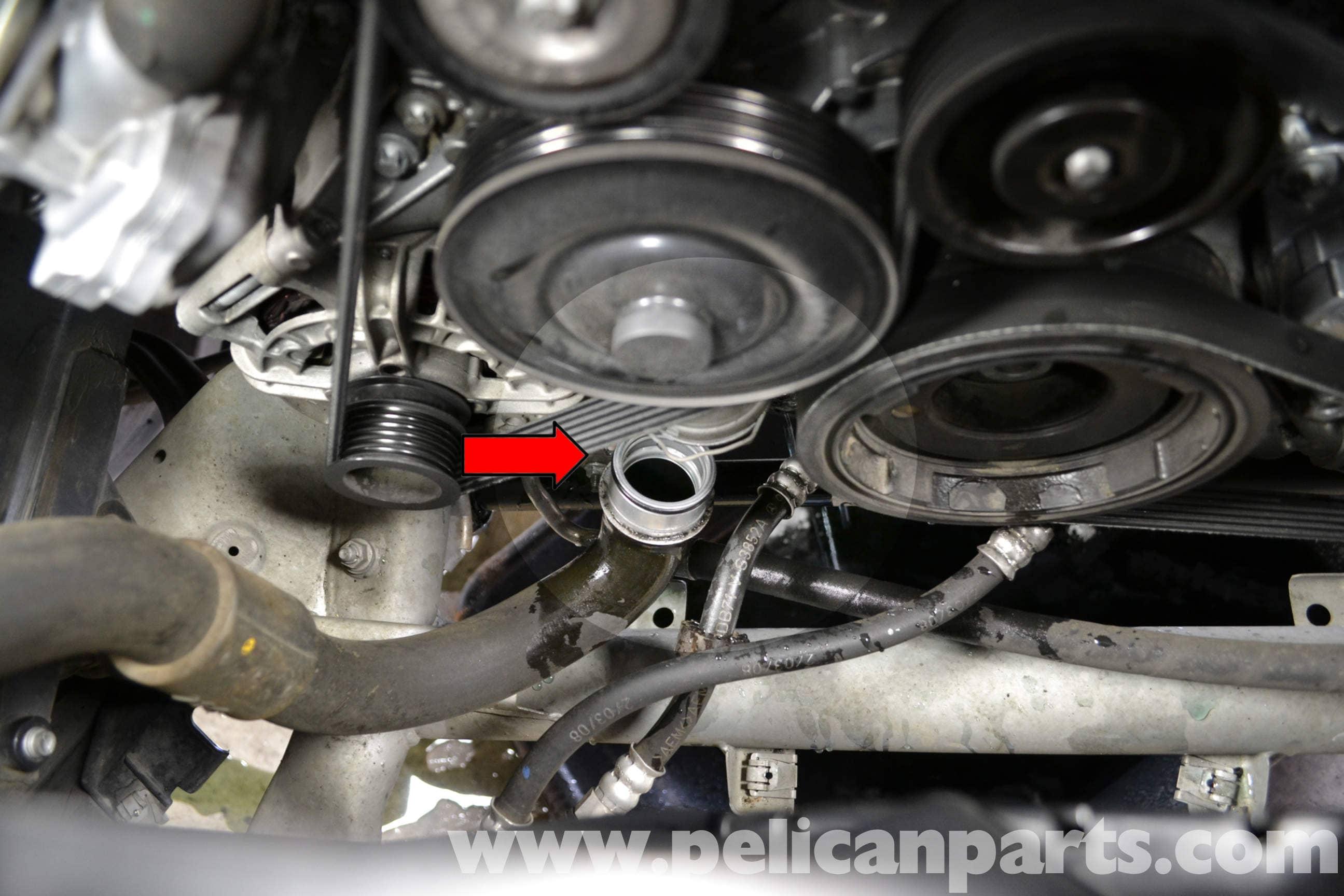 Mercedes-Benz W204 Coolant Pump Replacement - (2008-2014