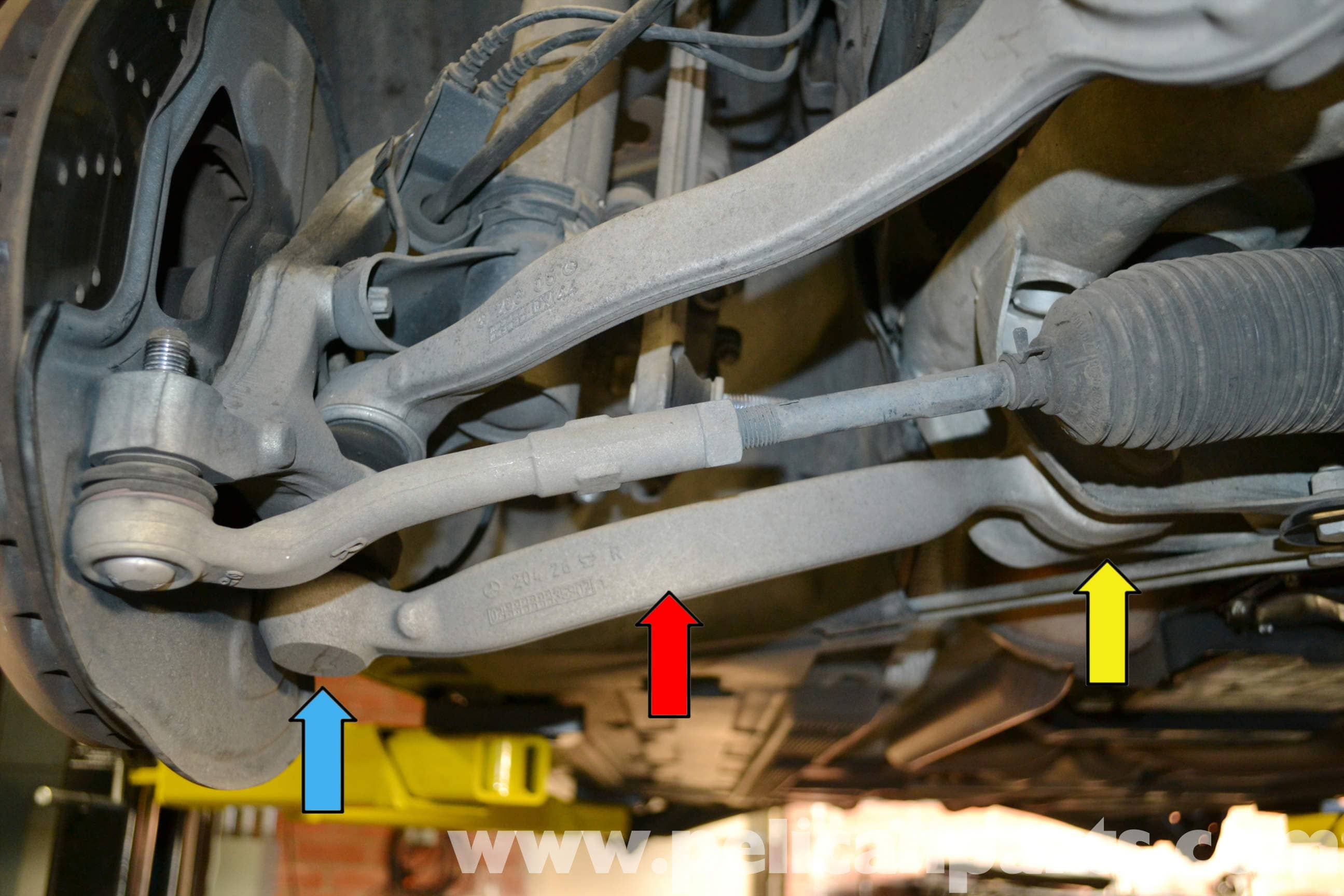 Mercedes Benz W204 Cross Strut Replacement 2008 2014