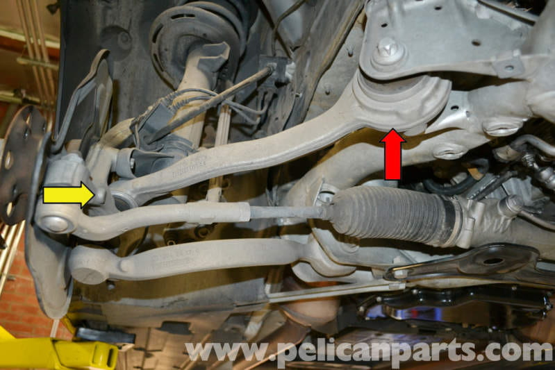 Mercedes Benz W204 Torque Strut And Bearing Replacement