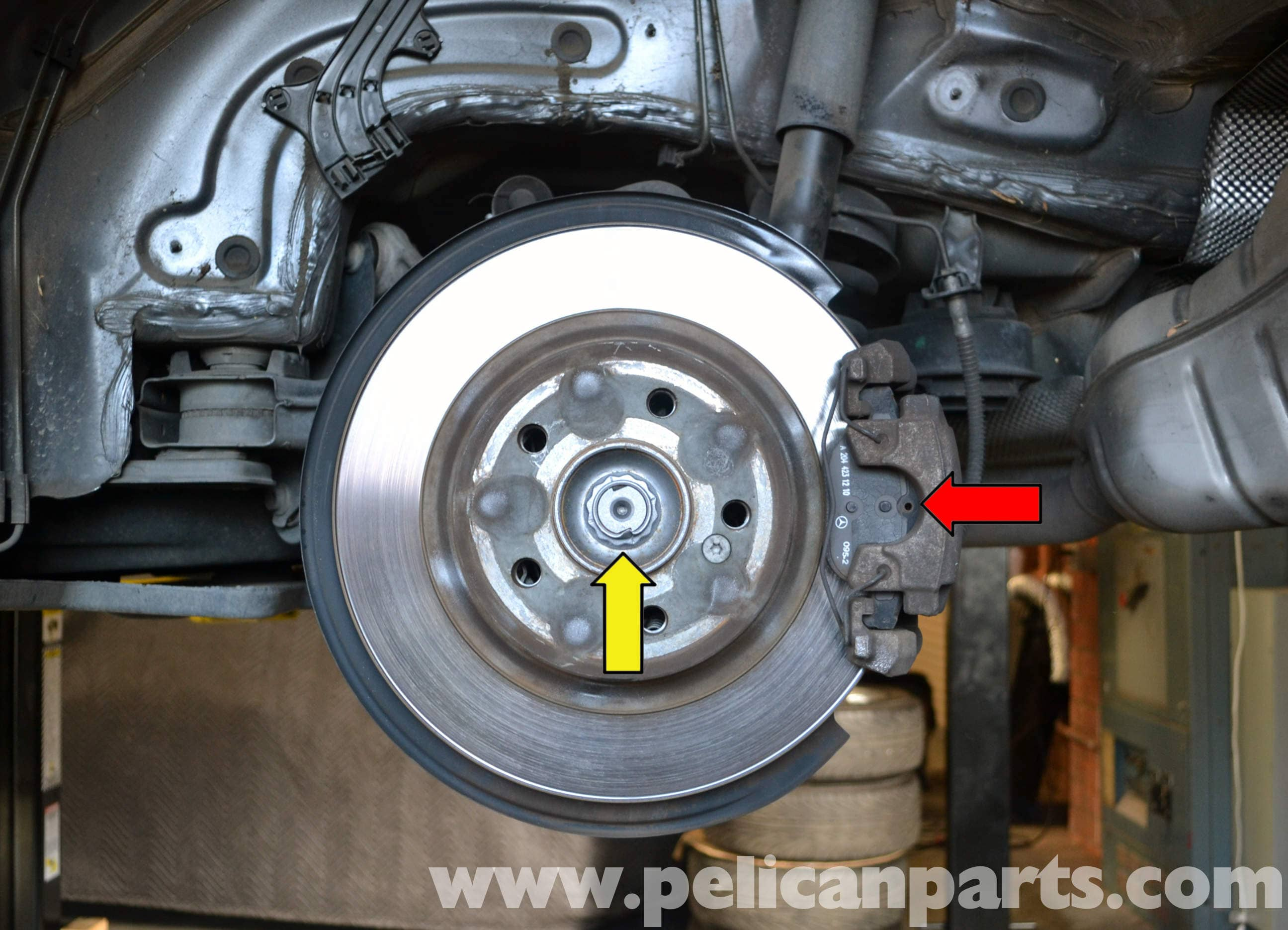 Mercedes-Benz W204 Axle Replacement - (2008-2014) C250, C300, C350