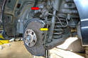 While you do not need to remove the brake system you DO need to remove the sensors from the brakes.