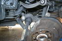 Next simply pull the axle straight out from the differential, you may need to give it a couple of good tugs but it will come straight out, just be careful it is heavy.