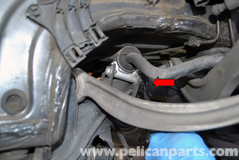 Mercedes Benz W204 Rear Stabilizer Bar And Drop Link