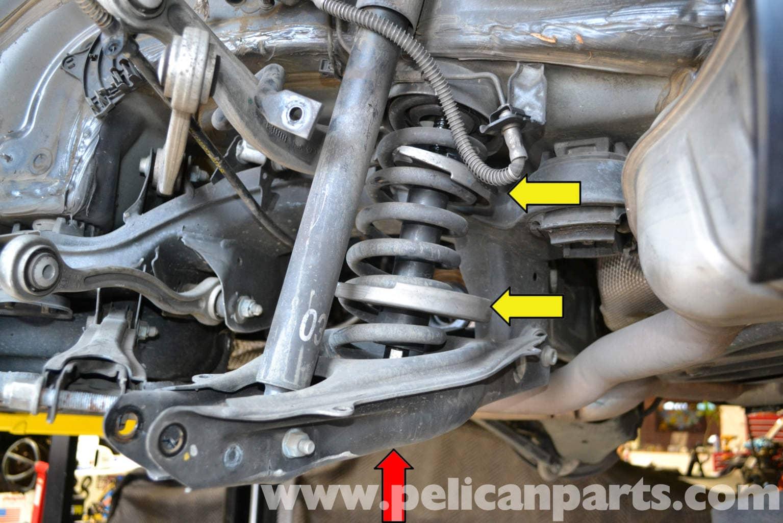 Mercedes benz w204 rear multi link suspension replacement for Mercedes benz suspension repair