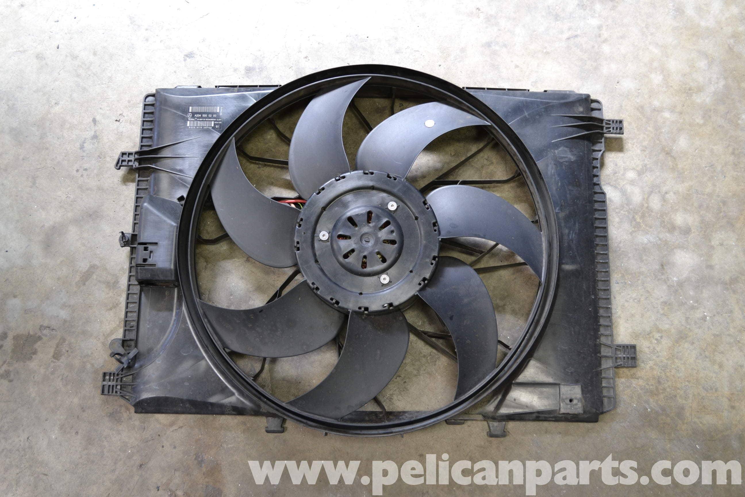 Mercedes-Benz W204 Radiator Fan Replacement - (2008-2014) C250, C300