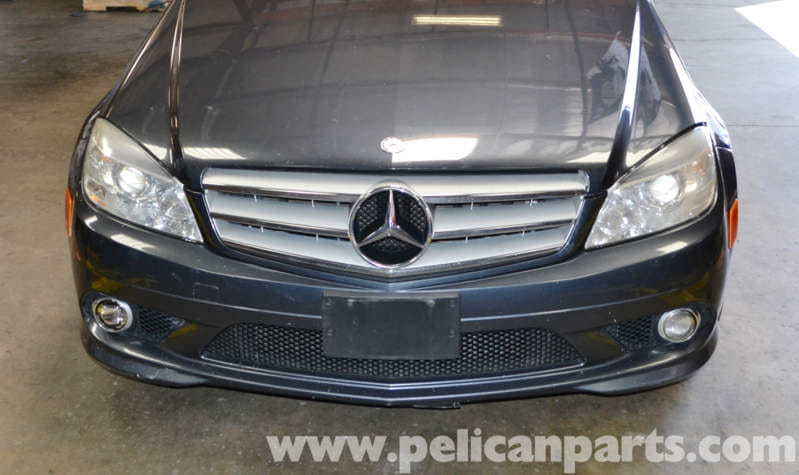 Mercedes benz w204 grille removal and replacement 2008 for Mercedes benz c300 grill