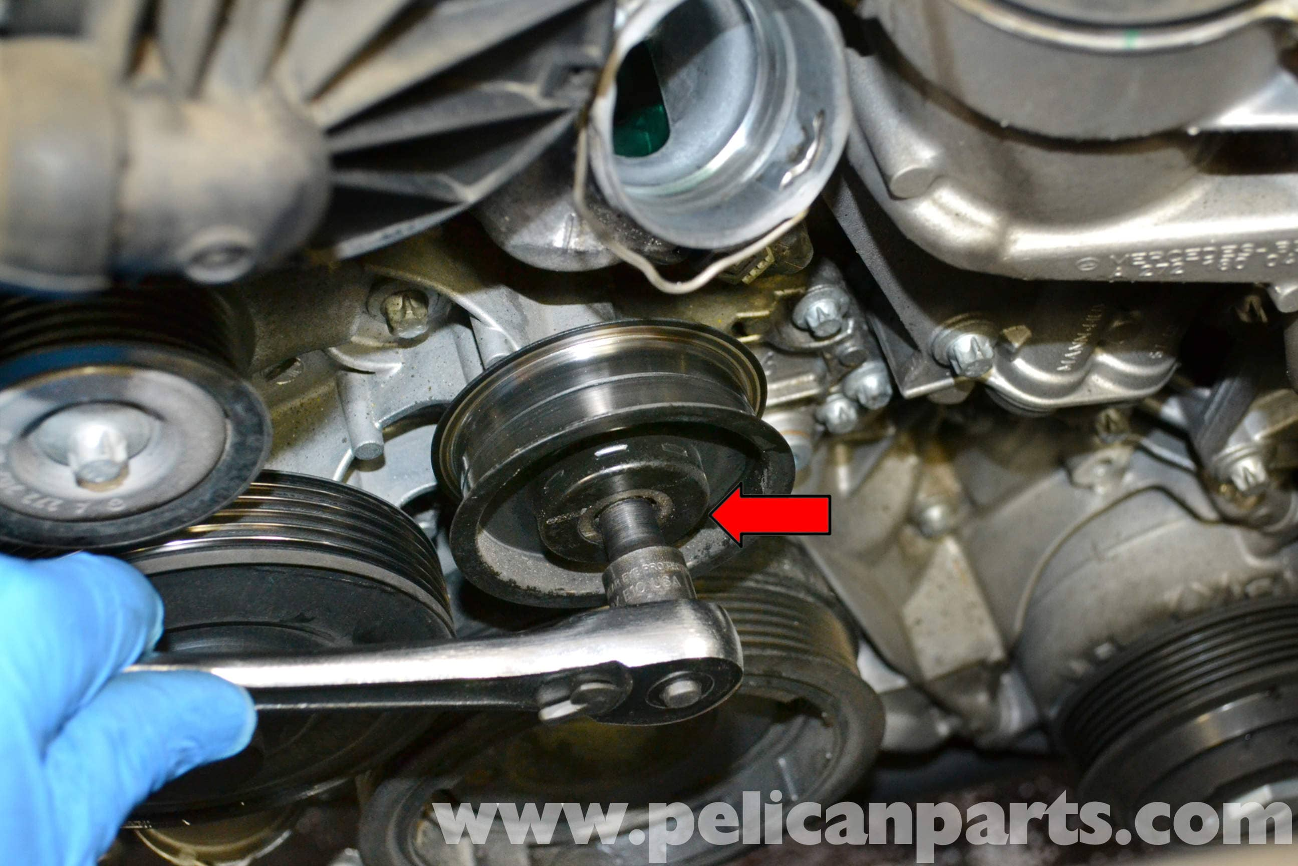 Mercedes-Benz W204 Oil Housing and Seal Replacement - (2008
