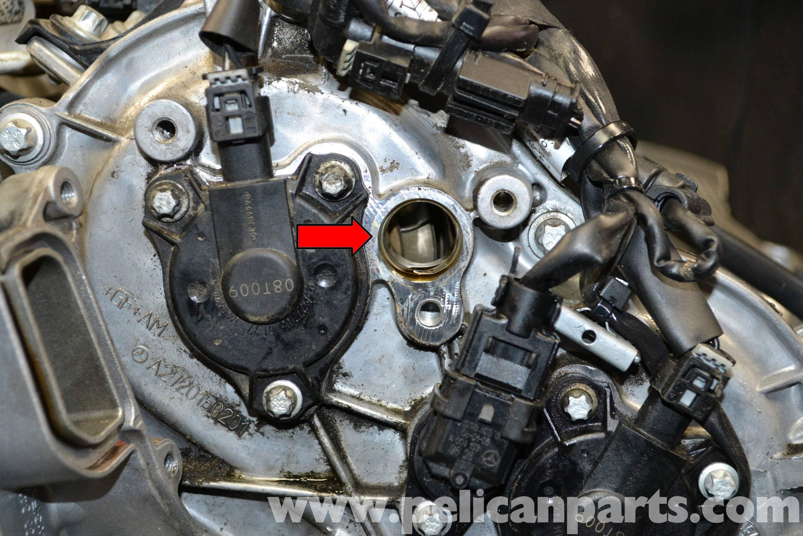 Mercedes-Benz W204 Camshaft Position Sensor Replacement