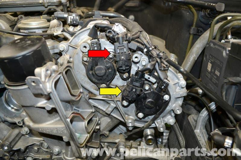Mercedes Crankshaft Seal W E