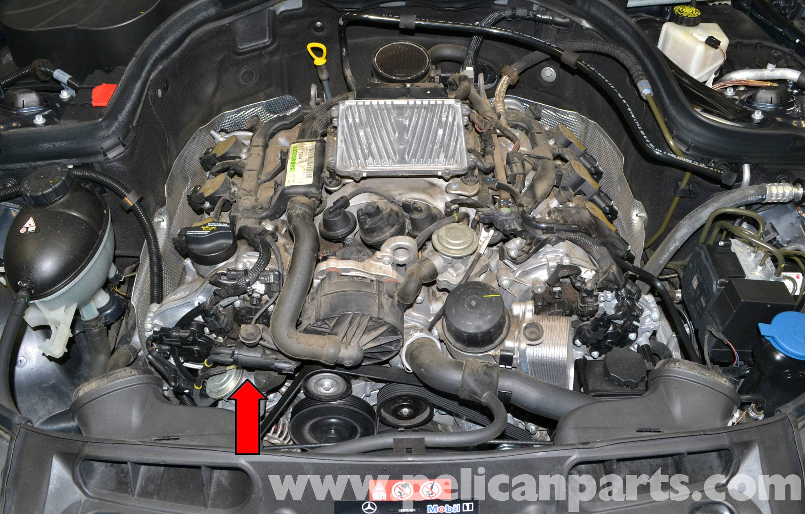 Mercedes Benz W204 Air Injection Change Over Valve