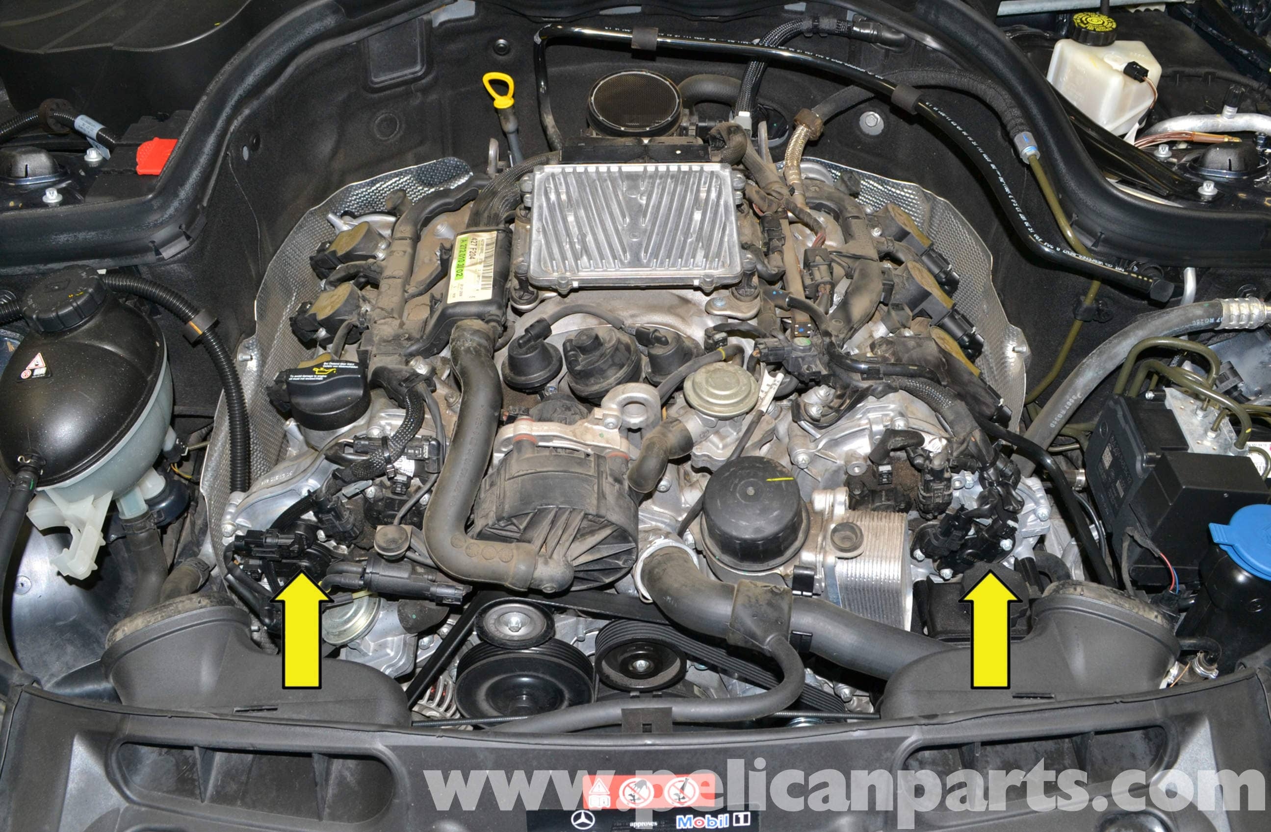 Mercedes Benz W204 Camshaft Magnetic Adjuster Replacement 2008 2jz Vvt I Engine Wiring Diagram Large Image Extra
