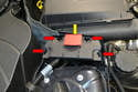 The main distribution of power is at the junction or distribution box.