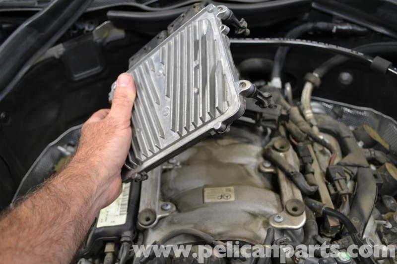 Mercedes-Benz W204 ECU Removal - (2008-2014) C250, C300, C350