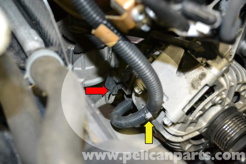 Mercedes-benz W204 Alternator Replacement