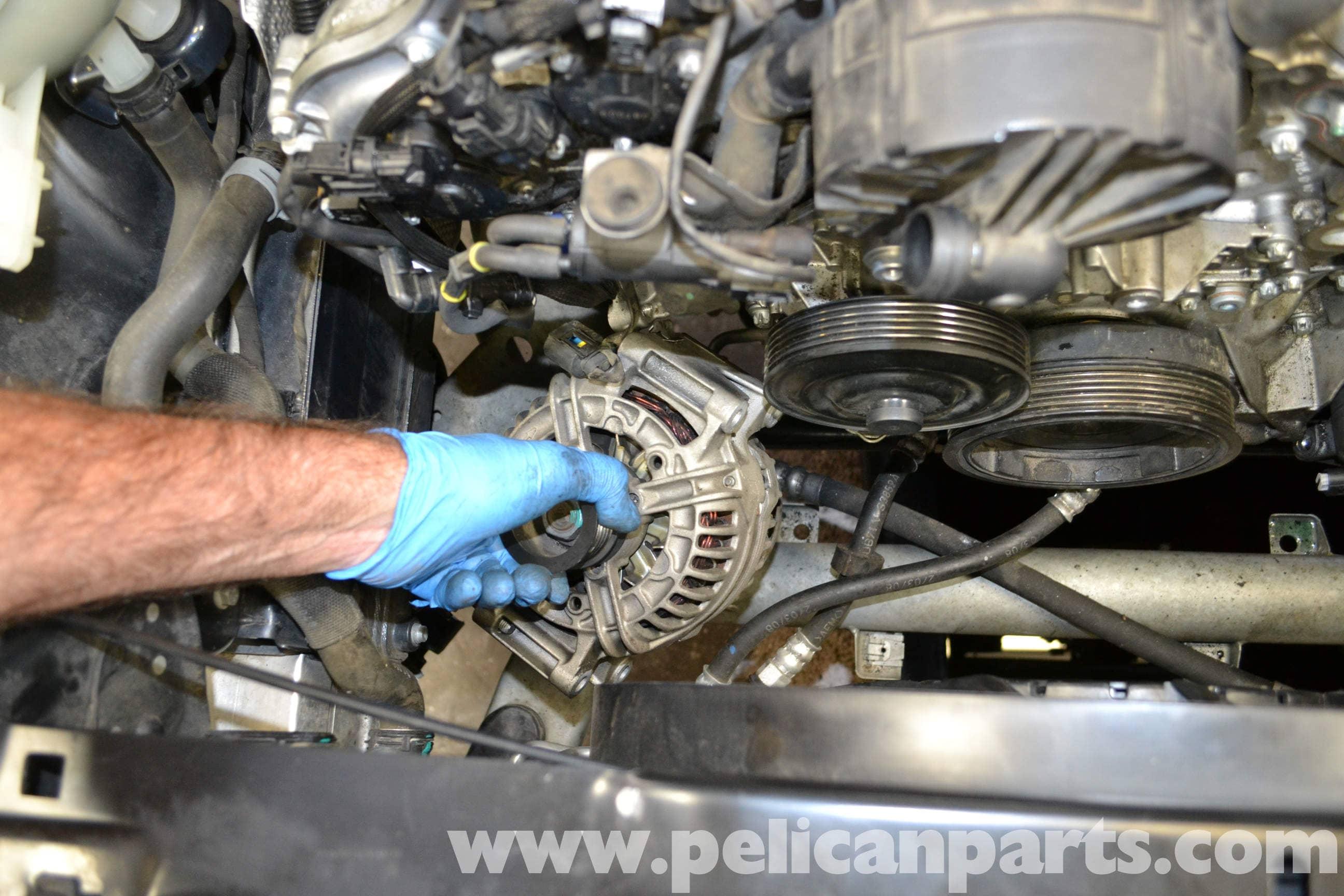 Mercedes-Benz W204 Voltage Regulator Replacement - (2008