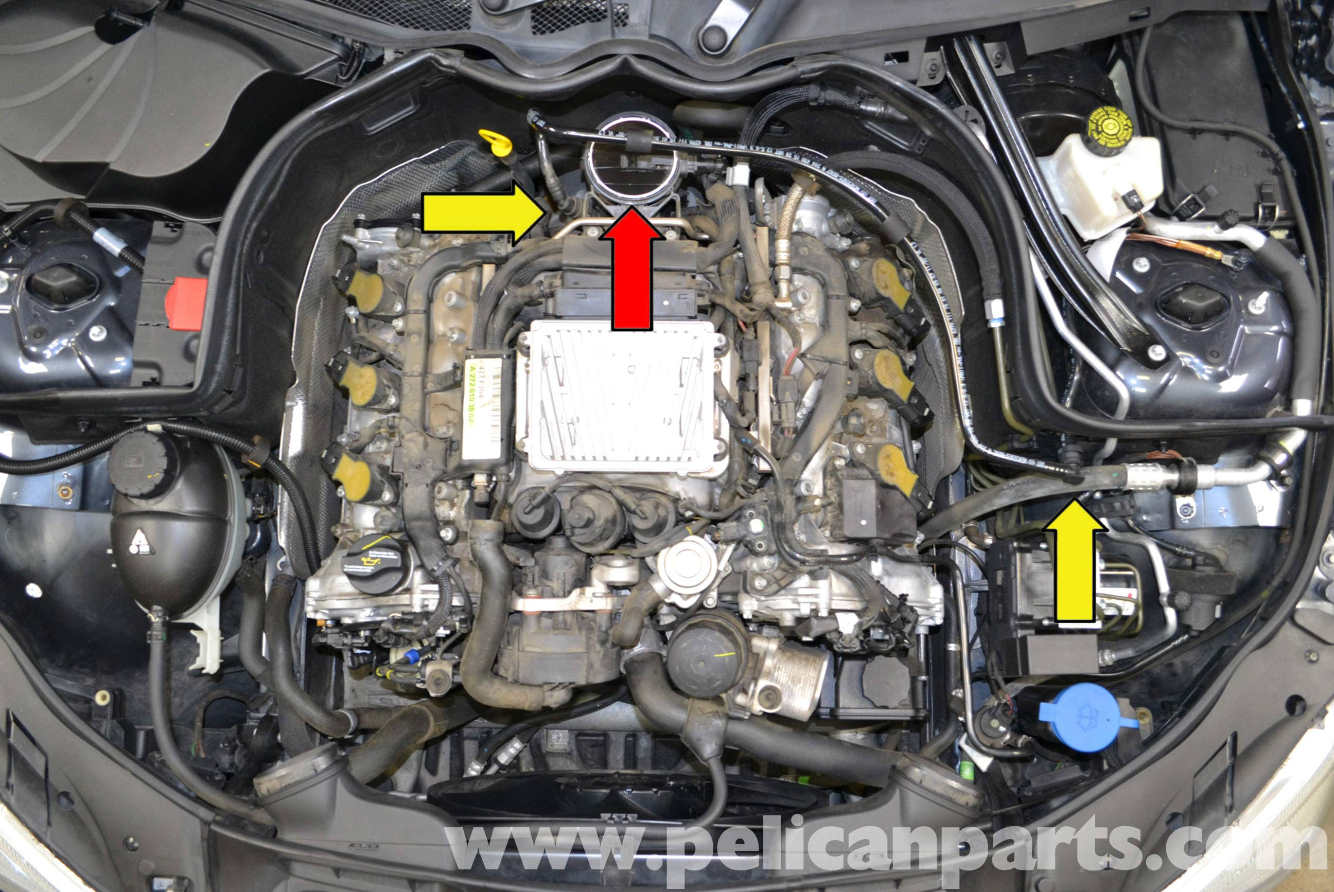 Throttle Body Heater Facias Saab 93 Wiring Diagram Mercedes Crankshaft Position Sensor Location Benz W204 Positioning