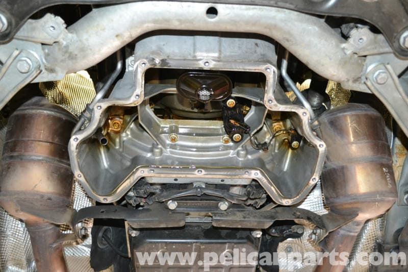 Mercedes Benz W204 Oil Plan Gasket Replacement 2008