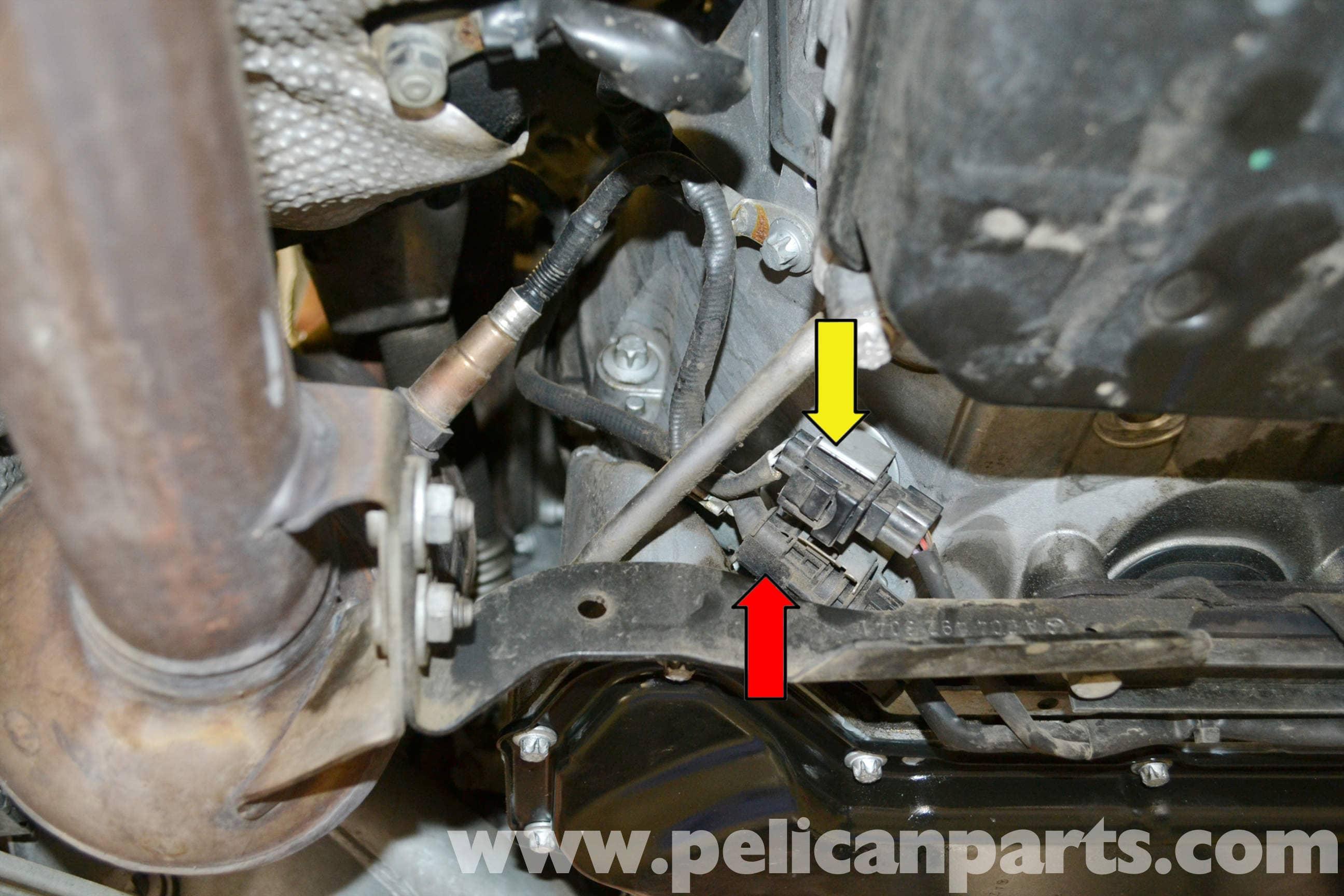 Mercedes-benz W204 Oxygen Sensor Replacement